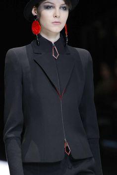 Giorgio Armani, Fall-Winter 2017, Milan, Womenswear