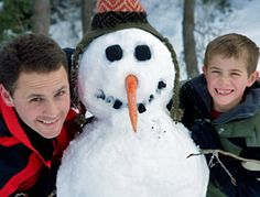 12 FUN things to do in the SNOW!!!