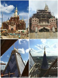 Shanghai Disneyland construction updates