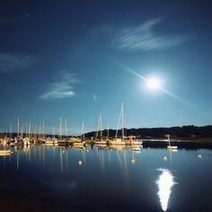 River Yar at night - Isle of Wight