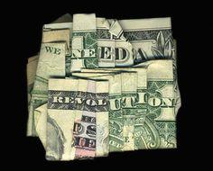 Money says some strange things
