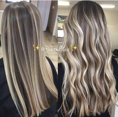 10 Ideas for Balayage on Straight Hair – Stylish Hairstyles Summer Hairstyles, Pretty Hairstyles, Straight Hairstyles, Hair Color Balayage, Hair Highlights, Ash Blonde Highlights On Dark Hair, Blonde Bayalage Hair, Balayage Bob, Ombré Hair