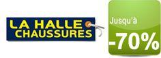 Shopping: Soldes La Halle aux chaussures jusquà -70%