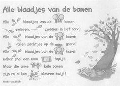 Liedjes / versjes - Welkom op de website van de Knorretjesklas Dutch Language, Work Activities, Autumn Crafts, Memory Books, Scandal Abc, Quotes For Kids, Kids Playing, Back To School, Poems