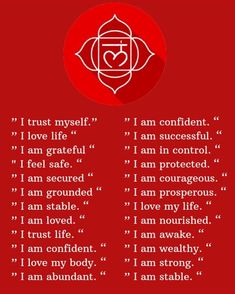 AFFIRMATION OF THE DAY 😊😊 Happiness & Smiles  Root Chakra Healing, Root Chakra Meditation, Spiritual Meditation, Meditation Music, Mindfulness Meditation, Chakra Alignment, Chakra Affirmations, Positive Affirmations, Level Of Awareness