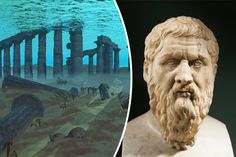 Atlantis mystery solved ~ AN Italian researcher claims he has solved the mystery of the legendary lost underwater city of Atlantis.