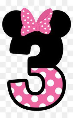 meros tema do Mickey e Minie Mouse Mickey E Minie, Minnie Png, Minnie Mouse Pink, Minnie Mouse Party, Minnie Mouse Birthday Decorations, Mickey Mouse Birthday, Minnie Mouse Pictures, Mickey Party, Alphabet And Numbers