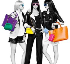 Karl Lagerfeld loves color