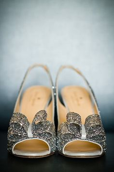 sparkle shoes! photo: scott hopkins photography. #dreamdigs