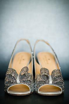 sparkle shoes! photo: scott hopkins photography. #dreamdigs gorgeous heel, wedding heels, sparkl shoe