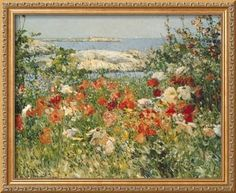 Ocean View Framed Giclee Print by Childe Hassam at Art.com