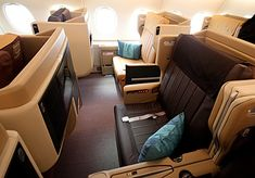 Singapore Airlines Business Class on A380