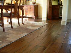 hardwood flooring wide plank | ... environmentally suitable for the installation of hardwood flooring