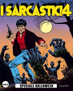 Pagina 00 - copertina -  L'alba dei morti viventi - lo speciale #Halloween de #iSarcastici4. #LuccaCG15 #DylanDog #fumetti #comics #bonelli
