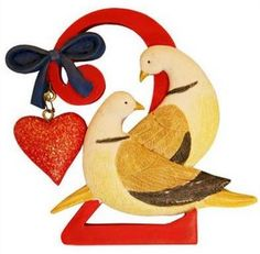 On the second day of Christmas my true love sent to me: 2 Turtle Doves