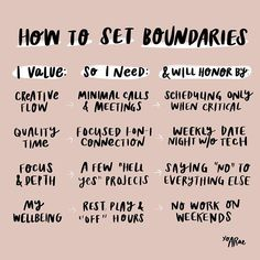HOW TO SET BOUNDARIES, Part I ⠀⠀⠀⠀⠀⠀⠀⠀⠀ ⠀⠀⠀⠀⠀⠀⠀⠀⠀ Here by popular request, let's talk about one of my favorite topics: BOUNDARIES. I love…