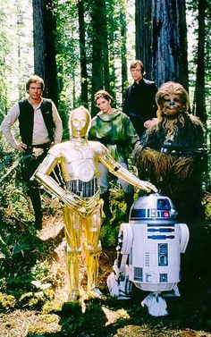 Star Wars Cast - Return of the Jedi