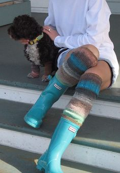 @John Whitaker  your wife might want these Hunter Wellies for xmas...light blue..taller ones though..;)