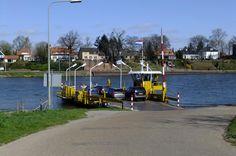Carferry Kessel-Beesel, Limburg, The Netherlands