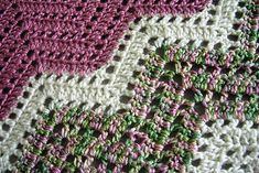 Ravelry: Lace Ripple Afghan pattern by Elaine Phillips