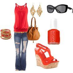 orange/red spring, created by caseylynn899