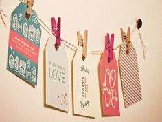 Valentine's Day: Printables- love these.