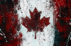 Winston Porter 'Canadian Flag' Graphic Art Print Multi-Piece Image Size: H x W Stana Katic, Canadian Flag Tattoo, All About Canada, Happy Canada Day, Triptych, Aesthetic Wallpapers, Wallpaper Backgrounds, Graphic Art, Contemporary Art