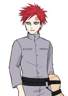 19 year old Gaara.... Still cute and is ten times cuter than Sasuke will ever be--Accurate af