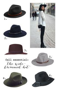 Fall Essential  The Wide Brimmed Hat. 7e7e0207b43