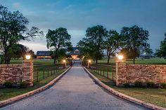 Ranch of the Week: Stunning Equestrian Estate in Pilot Point, TX...11031 Strittmatter Road