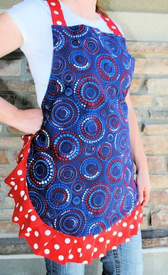 4th of July Apron Tutorial