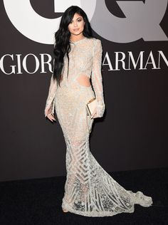 Kylie Jenner - Grammys 2015