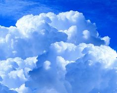 Blue sky and clouds. I can't tell where the sky begins and the clouds leave off. Free Photoshop, Photoshop Brushes, Simple Water Cycle, Cloud Texture, Cumulus, Cloud Atlas, Angel Aura Quartz, Sky And Clouds, White Clouds
