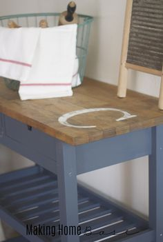 Ikea Furniture: Customized Kitchen Cart
