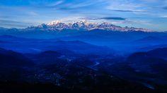 Бандіпур Непал. великий гімалайський хребет