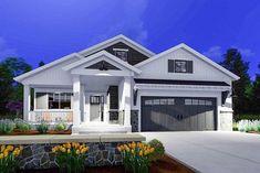 Expandable Bungalow House Plan - 64441SC thumb - 02