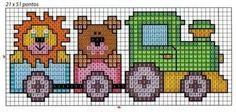 Xmas Cross Stitch, Cross Stitch Borders, Cross Stitch Baby, Cross Stitch Animals, Cross Stitch Charts, Cross Stitch Designs, Cross Stitching, Cross Stitch Embroidery, Cross Stitch Patterns