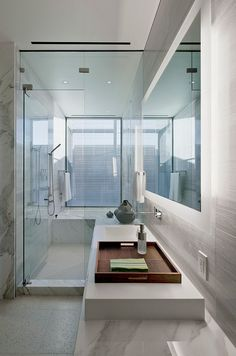 Bath in Shower Bathroom