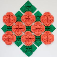 Origami Quilts: Wildflowers