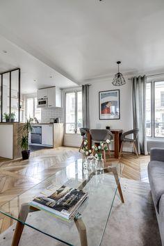 daphne decor&design-Un appartement parisien de 38m2 entièrement rénové et optimisé