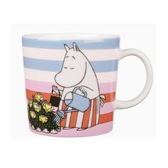 Arabia 2010 Seasonal Moomin Mug – Rose Garden