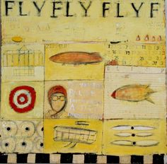 Fly - Mary Srimgeour Art Studies, Artist Painting, New Art, Vintage World Maps, Mary, Illustration, Beautiful Things, Art Ideas, Colour