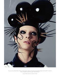 Avant-Garde Sci-Fi Cosmetics : Junya Watanabe