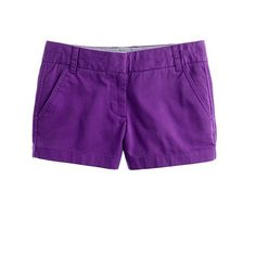 What color J.Crew chino short should I get this year?  I'm totally thinking purple!