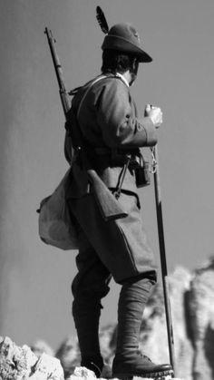 Alpino, Grande Guerra. Italy, ww1
