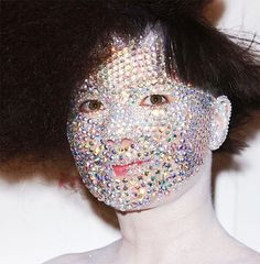 People. Bedazzle your iphone cover. Not your face.