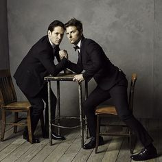 Paul Rudd and Adam Scott / Oscars