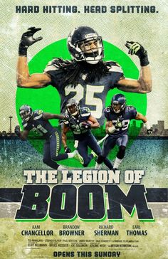 Seattle Seahawks Legion of Boom!