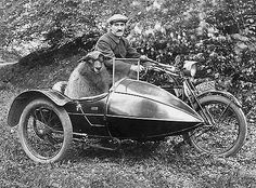 MOTORCYCLE 74: Sidecar sheep