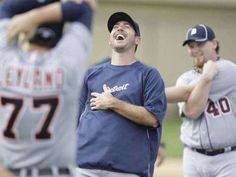 Verlander laughing his ass off about something